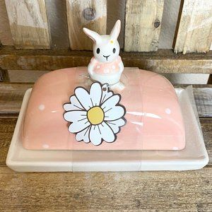 10 Strawberry Bunny Butter Dish
